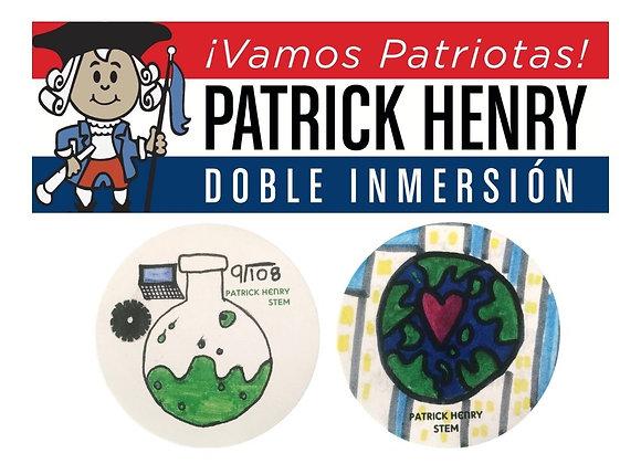 Henry STEM Sticker 3-Pack