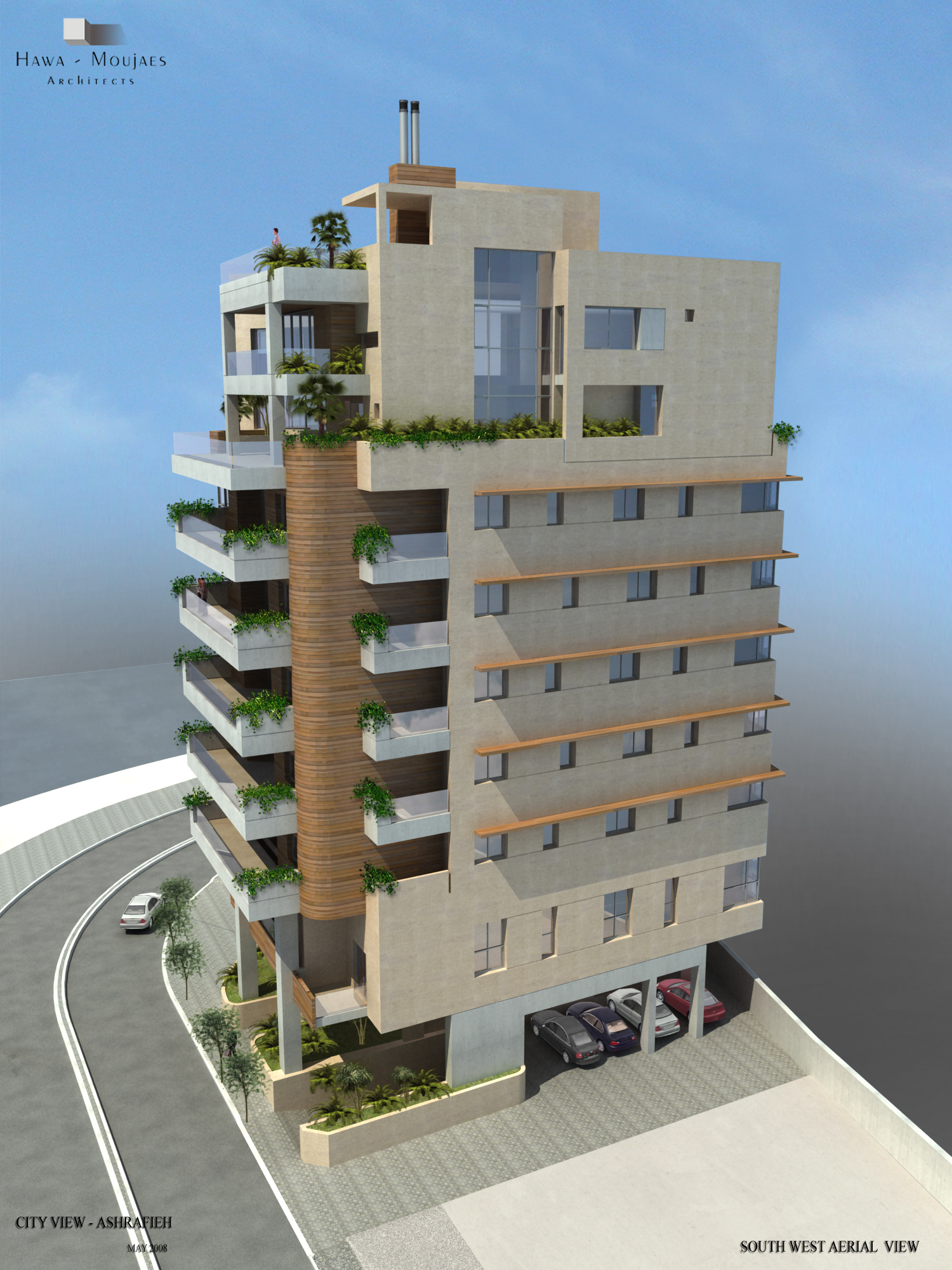 20. City View - Achrafieh, Lebanon