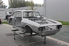 Sandblasting, Willebroek, fine abrasive blasting, oldtimer, classic car