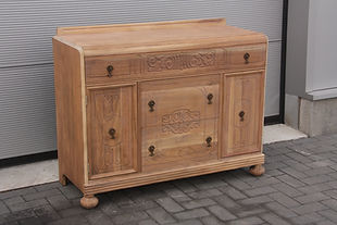 Fine blasting furniture, sandblasting, varnish removal, Willebroek