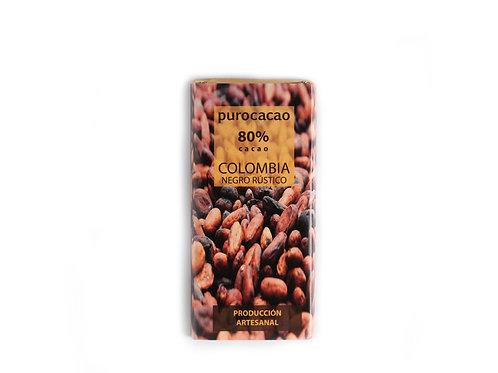 TABLETA 80% Cacao Colombia | Peso 50grs
