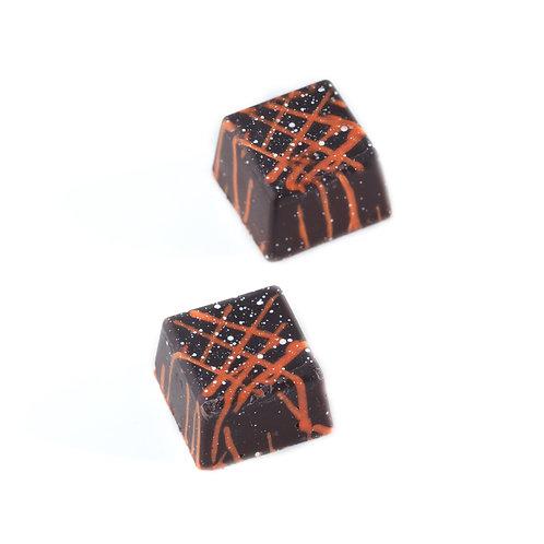 Caja Noir Neuf Bombón ganache Cabernet franc. (13 bombones) peso aprox 130g