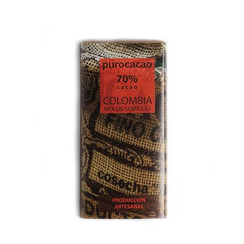70% Colombia , mix de semillas. Peso 50grs