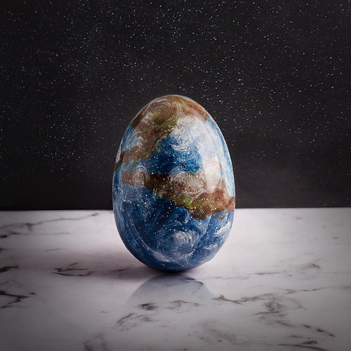 Tierra Tamaño mediano. Peso 300grs