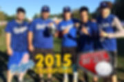 Dodgers are 2015 Wiffleball Champs