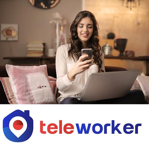 Plan Teleworker Silver (6 meses) tracking de productividad