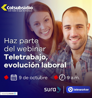 Webinar Teletrabajo Colsubsidio y Teleworker 9 de octubre de 2020