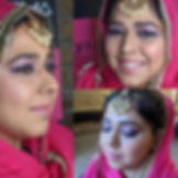 Bollywood inspired look featuring the ch