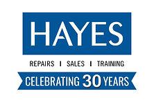 Hayes Logo - 30 Years.jpg