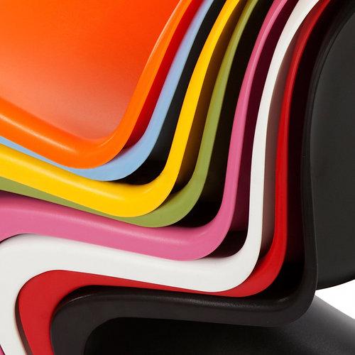 childrens verner panton style chair orange