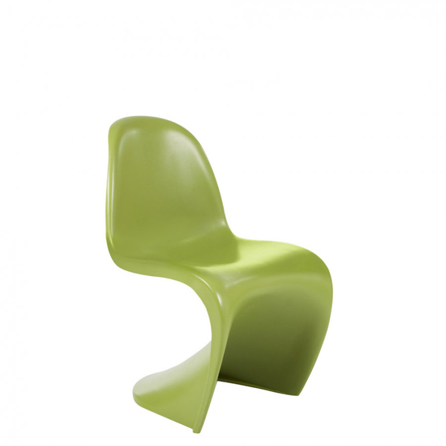 Miraculous Childrens Verner Panton Style Chair Green Gmtry Best Dining Table And Chair Ideas Images Gmtryco
