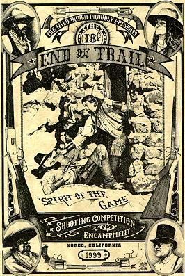 End Of Trail postcard