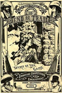 End Of Trail postcard