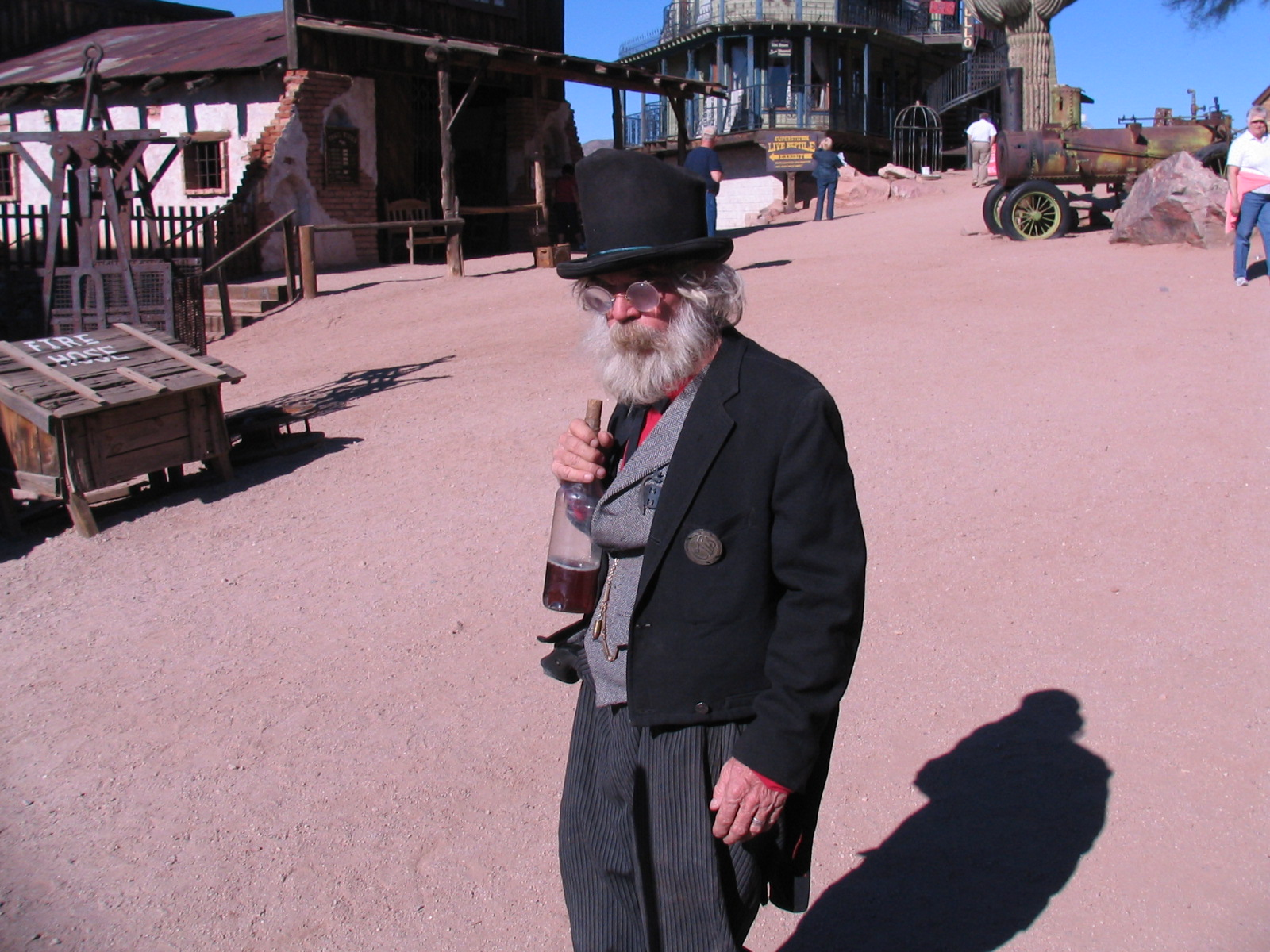 New Years 2012 - Goldfield