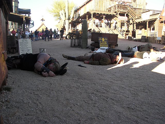 New Years 2009 - Goldfield
