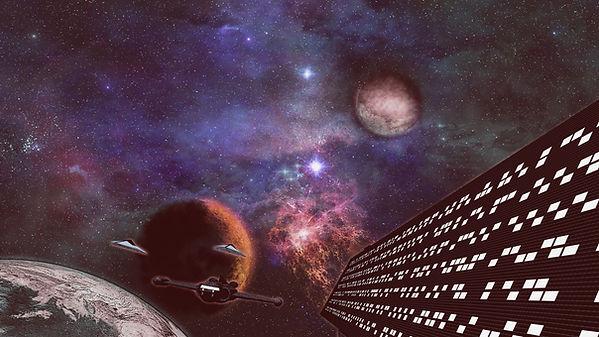 planètes en mouvement