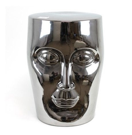 Face Ceramic Stool