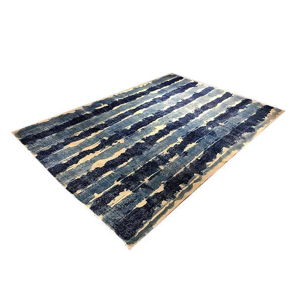 Special Painted Vintage Rug
