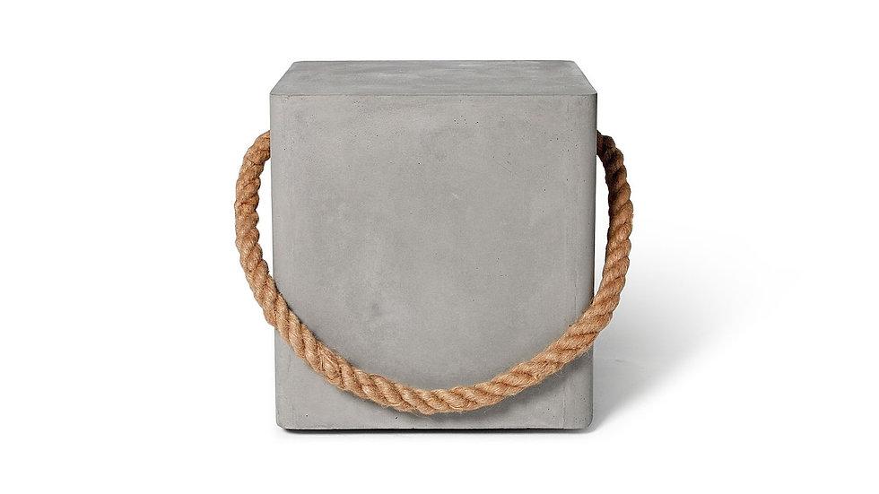 Concrete Wheeled Stool