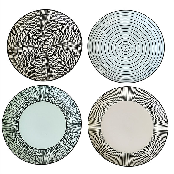 Plates Pastel Small