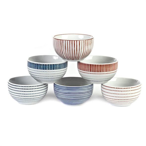 Bowls Block Stripes S