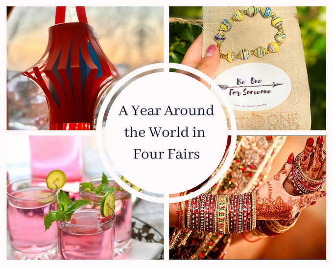 A Year Around the World in Four Fairs