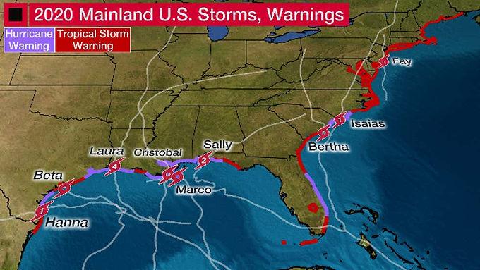 The 2020 Atlantic Hurricane Season: Records Broken