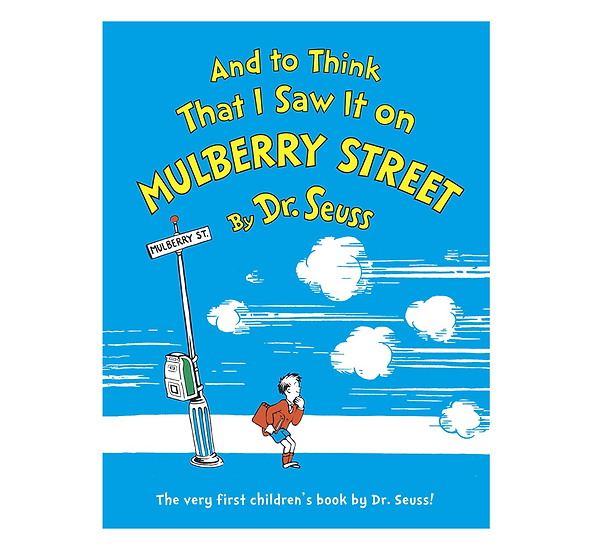 And to Think I Saw it on Mulberry Street: What I Saw