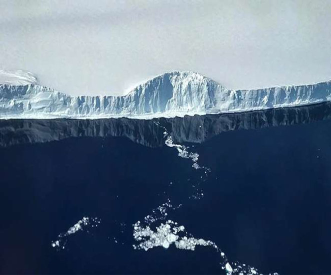 The History of the Iceberg A68A