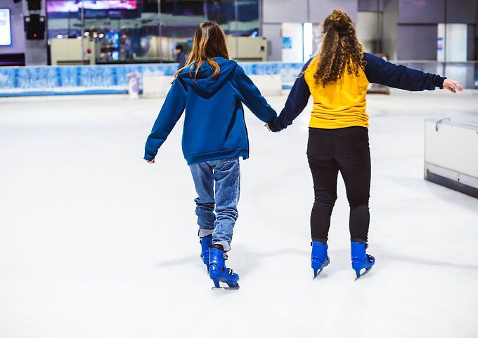 Skating at Newbridge Arena (Or: How to Fall Until it Stops Hurting)