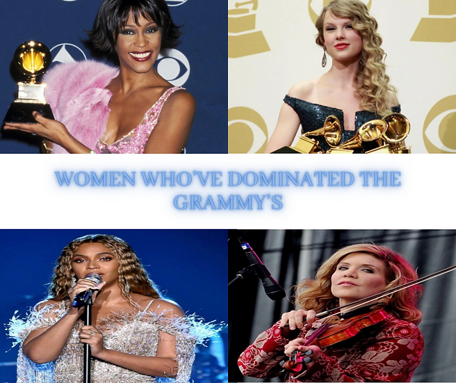 Women Who Have Dominated the Grammys