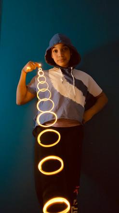 Fairy Light Circles