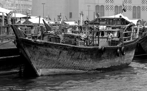 Dhow on the Creek, Dubai, UAE