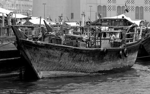 Dhow on the Creek, Dubai, UAE