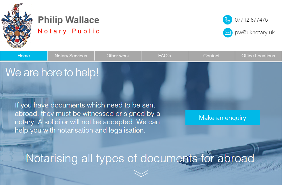 Philip Wallace Notary Public