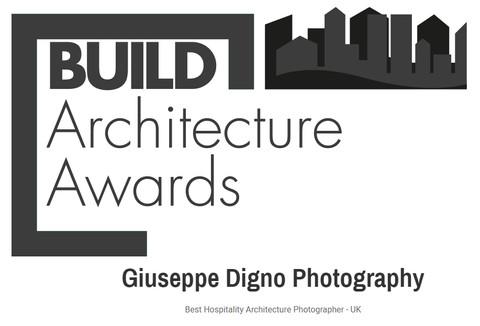 Awarded Best Hospitality Architecture Photographer - UK - by Build Magazine
