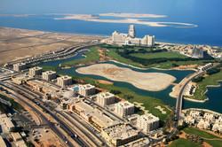 Al Hamra Mall Aerial View