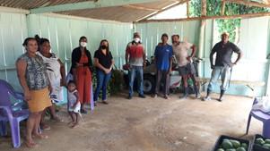 Prefeitura de Ubaitaba visita agricultores que fornecem os alimentos para o PAA