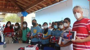 Ubaitaba realiza entrega de Tablets para Agentes Comunitários de Saúde.