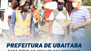 Prefeitura dará início ao asfaltamento de ruas no centro da cidade