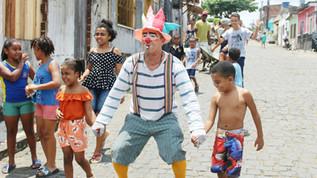 Caravana da Alegria animou o domingo da Criançada em Ubaitaba.