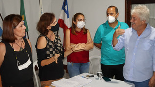 Prefeito Bêda participa de reunião com entidades e fala dos novos projetos para Ubaitaba