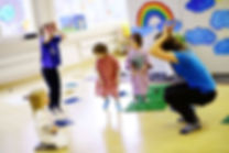 early childhood development classes, motor skills, kids and fun
