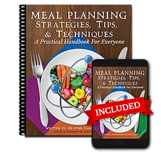 Meal Planning Strategies, Tips, & Techni