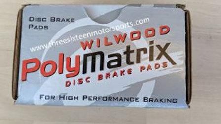 WILWOOD BRAKE PADS BP-20