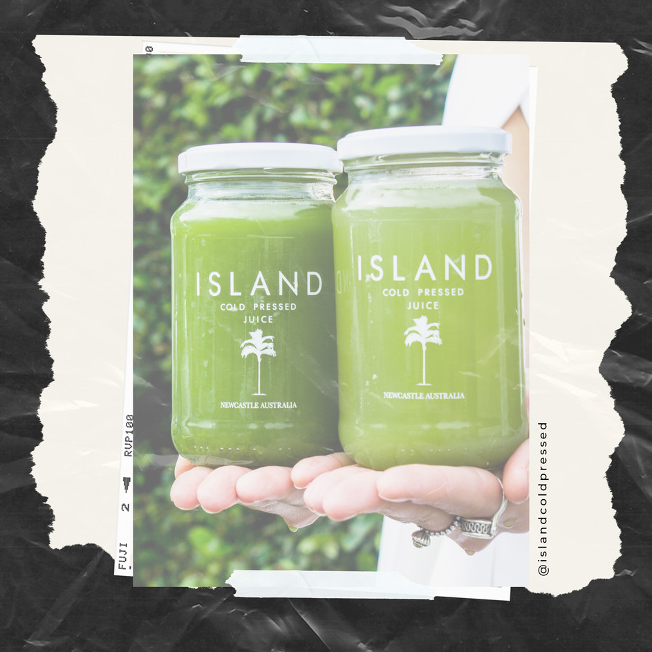 ISLAND COLD PRESSED JUICE