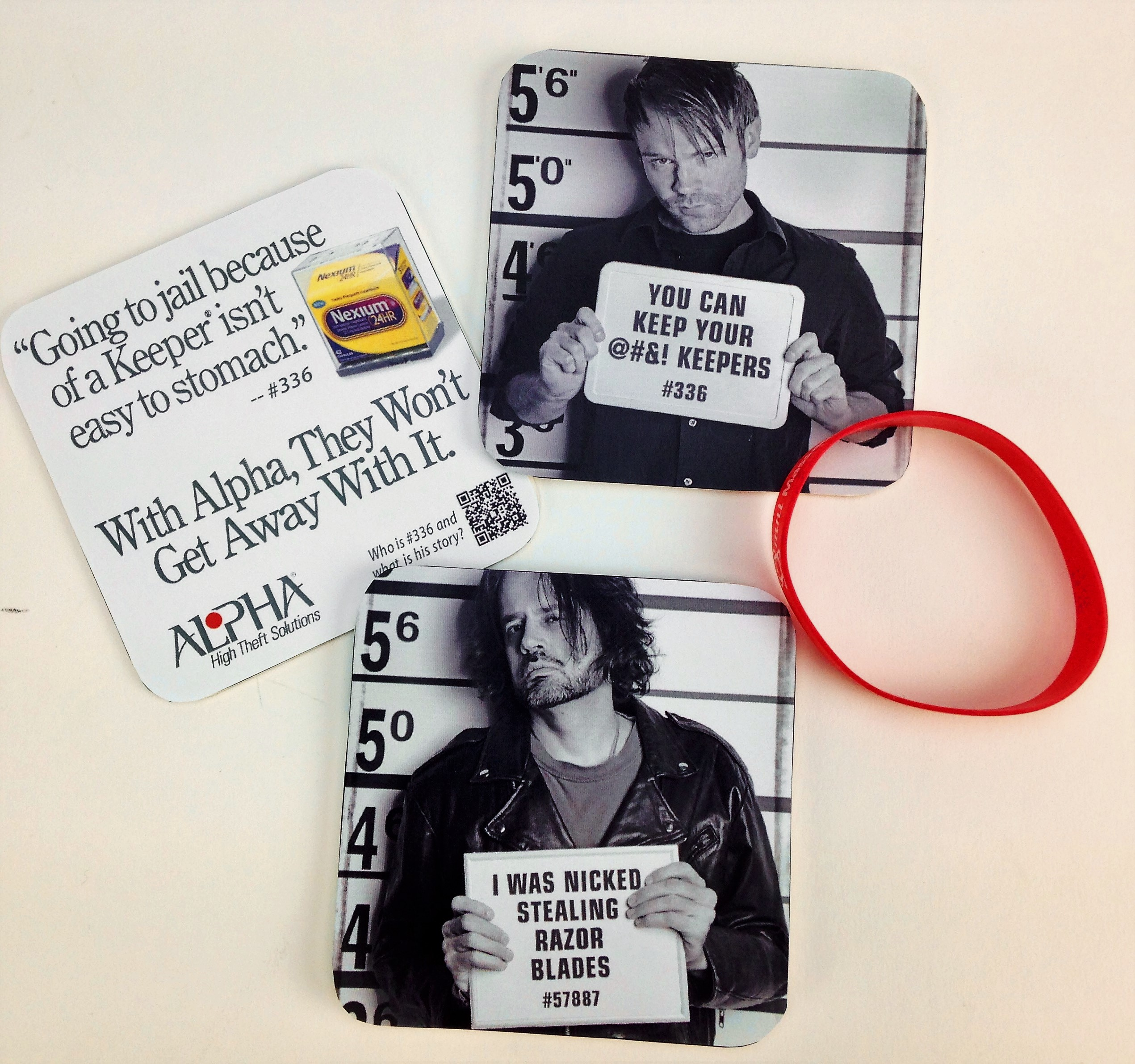 Promotional Giveaway Coasters