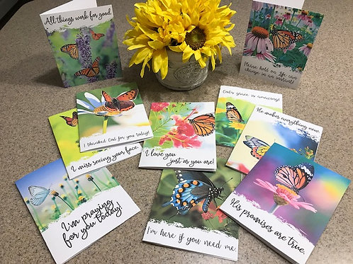 Wings of Hope Greeting Cards