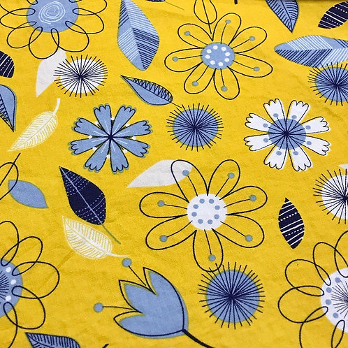 Yellow & Blue Blooms