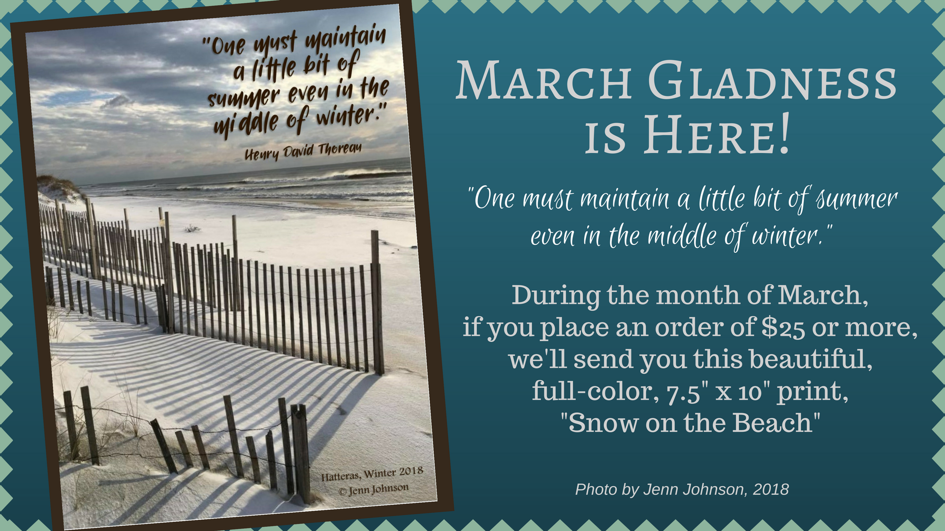 March Gladness Campaign